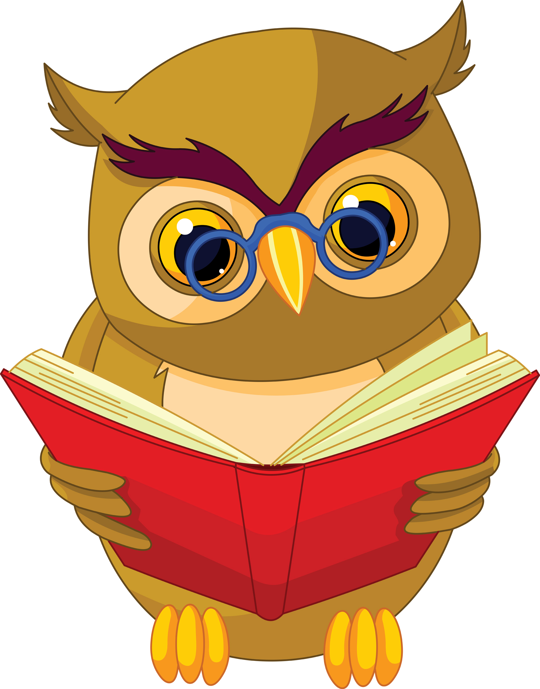 Pin book owl on pinterest for A cartoon owl